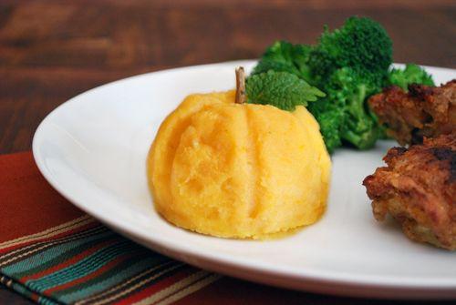 pumpkin mashed potatoes | Food | Pinterest