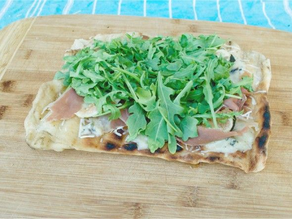 Grilled Pizza With Fontina And Arugula Recipes — Dishmaps