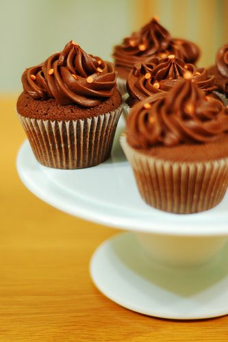 Chocolate and Orange Cupcakes | Cupcakes Galore | Pinterest
