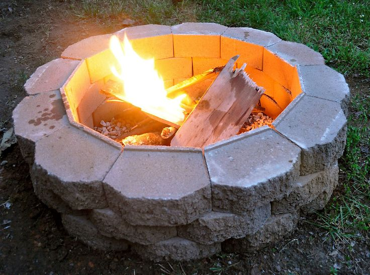 diy outdoor fire pit