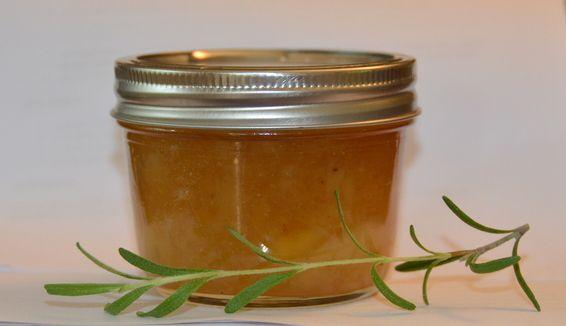 White Peach and Rosemary Jam | Recipe