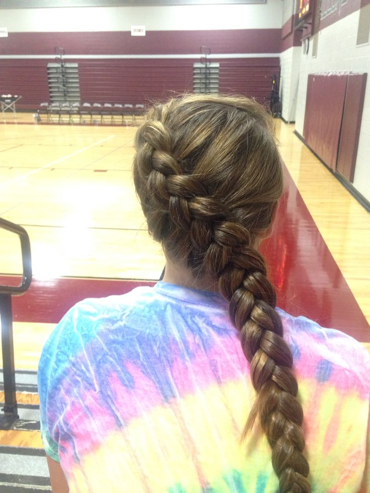 Best Ideas About Volleyball Hair On Pinterest
