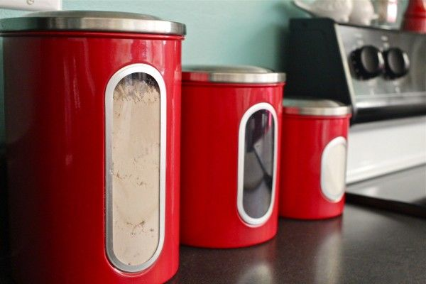 Pinterest discover and save creative ideas for Teal and red kitchen