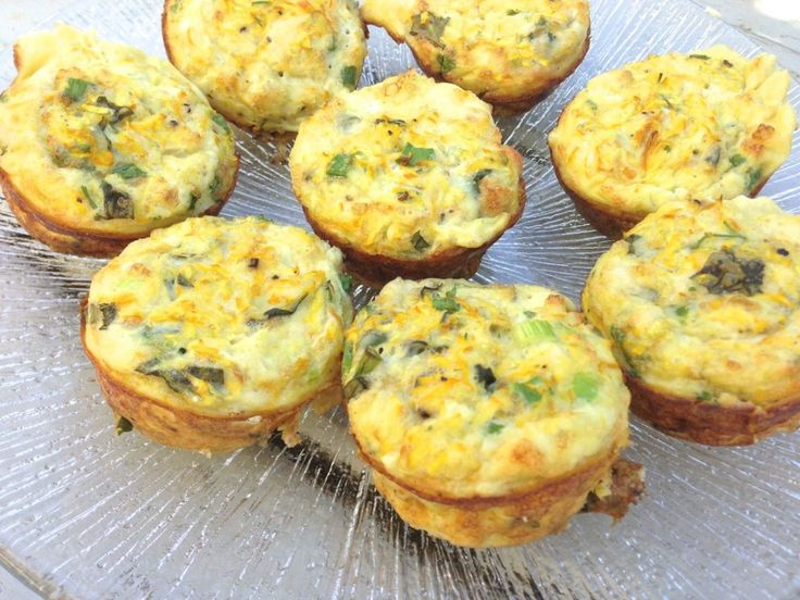 zucchini frittata... I make a larger version of this but this would be ...