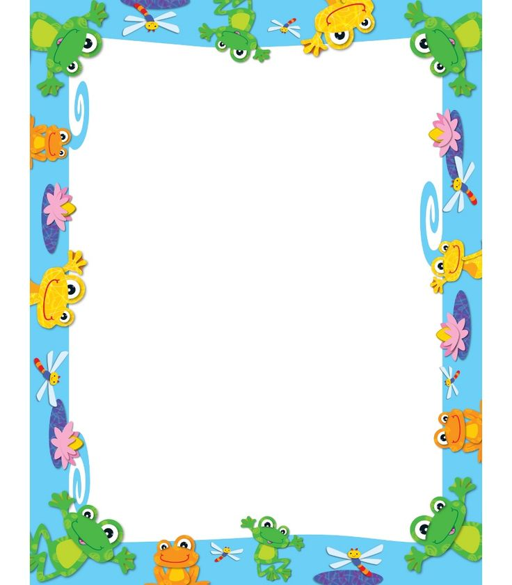 FUNky Frogs Computer Paper (CD118112) #school #education #decorations