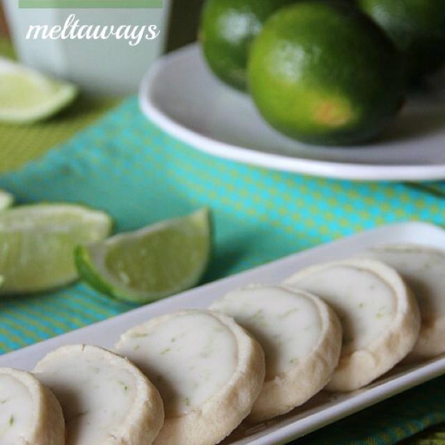 Key lime meltaways!! Yum yum | FOOD FOOD FOOD | Pinterest