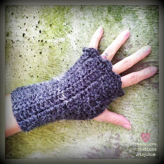Crocheting With Arms : Crochet Arm Warmers by peacelovecreations on Etsy, $20.00