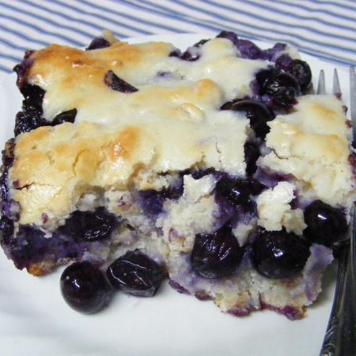 Blueberry Dumpling Cobbler - with cream cheese... I gotta try this one ...