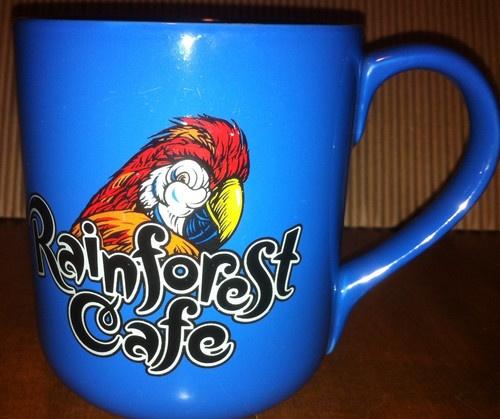 The Mug Coffee >> Rainforest Cafe Coffee Mug! | Cool Stuff For Sale On Ebay | Pinterest