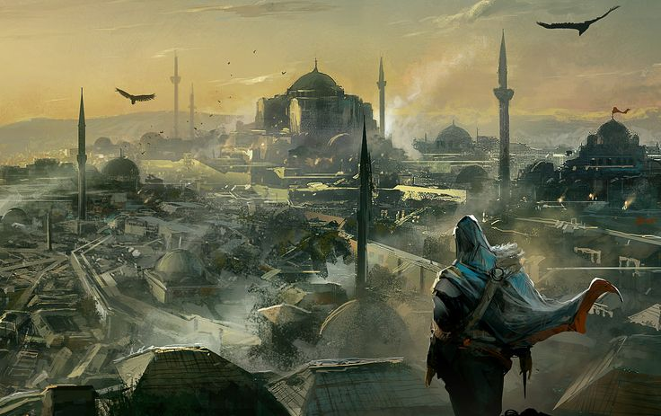 Assassins Creed concept art