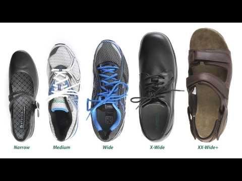 Average Mens Shoe Width