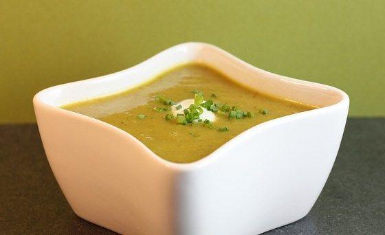 Curried Zucchini Soup | Yum! Veggie food! | Pinterest