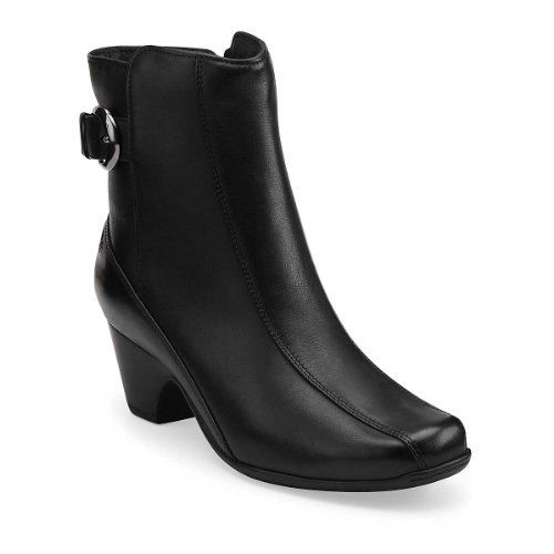 Clarks Women's Dara 3 Boot Leather Manmade sole Shaft measures