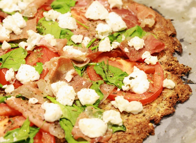 Prosciutto and Arugula Pizza | Primal Eats | Pinterest