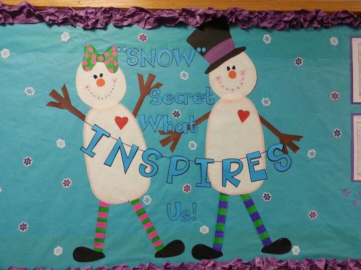 Winter bulletin board for 4th grade bulletin boards pinterest