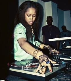 DJ Lowdown Loretta Brown.