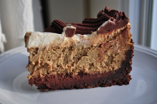 cappuccino fudge cheesecake!! | food | Pinterest