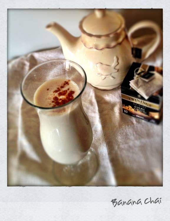 Banana Chai Smoothie Recipe | Healthy recipes | Pinterest