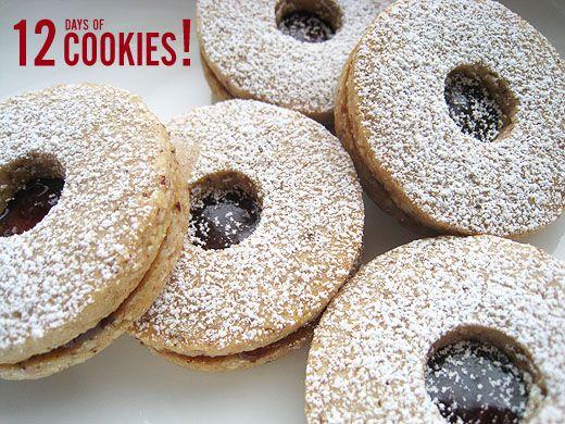 Linzer Sables (Dorie Greenspan) | Dessert & Baking | Pinterest