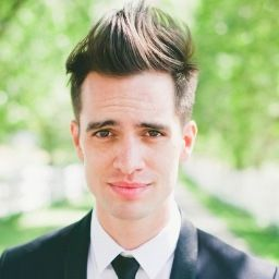 bridal hairstyles with headband : Brendon Urie Brendon Urie Pinterest