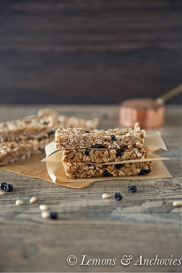 Blueberry Breakfast Bars (No Bake) | Breakfast is the Most Important ...