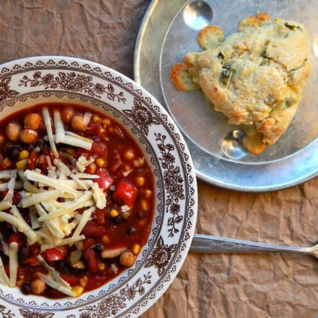 Spicy Vegetarian Chili | Eats. | Pinterest