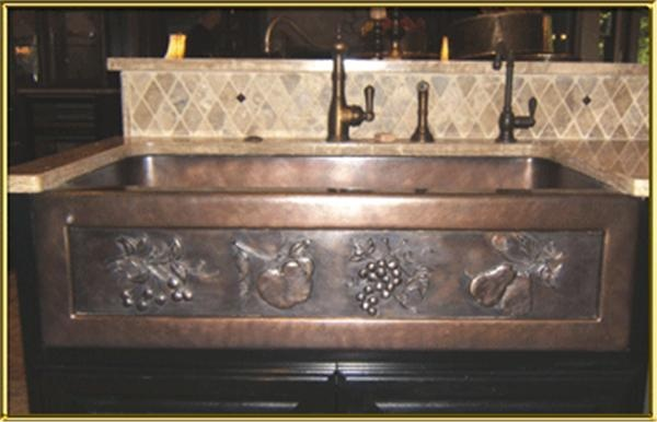 Chameleon Bronze Farm Sink Single 40 For my Dream Home Pinterest