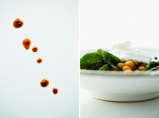 harissa chickpeas with spinach: have been eating a lot of home made ...
