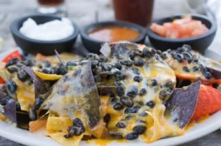 Easy (Super Bowl) Nachos. So was and so good! Check out Door to Door ...