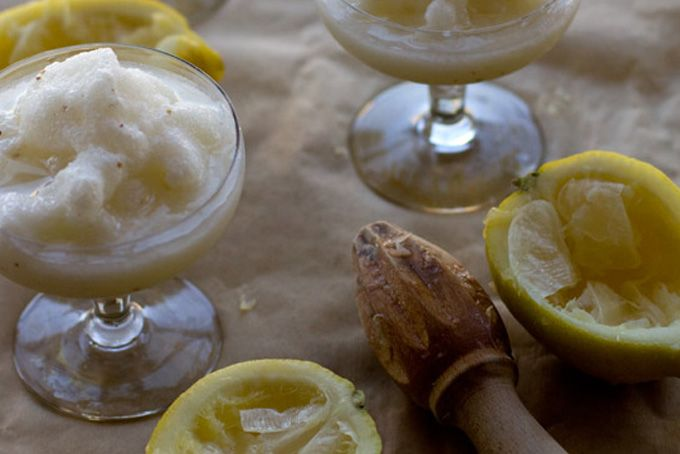 Lemon Anise Slush Recipe from 101 Cookbooks. Recipe: http://www ...