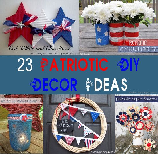 cheap and easy 4th of july decorations