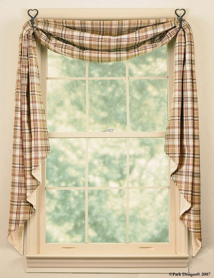 swag curtain styles | Fishtail Swags - Homespun By Andy's