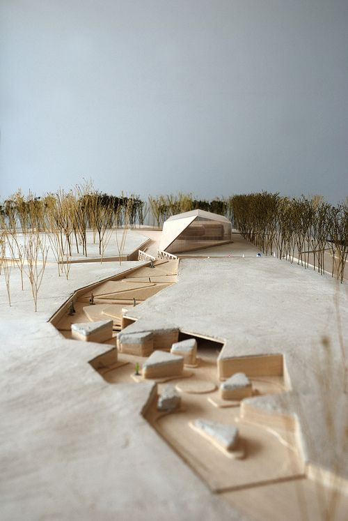 Architectural model tumblr drawing model inspiration for Architectural concept models