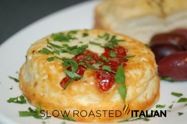 Baked Ricotta with Sun-dried Tomatoes | Entertainment Recipes | Pinte ...