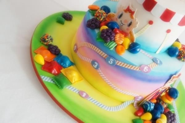 Candy Crush Cake – Iphone Happy Studio Picture