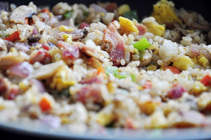 Bacon And Eggs Fried Rice | My Tasty Life | Pinterest