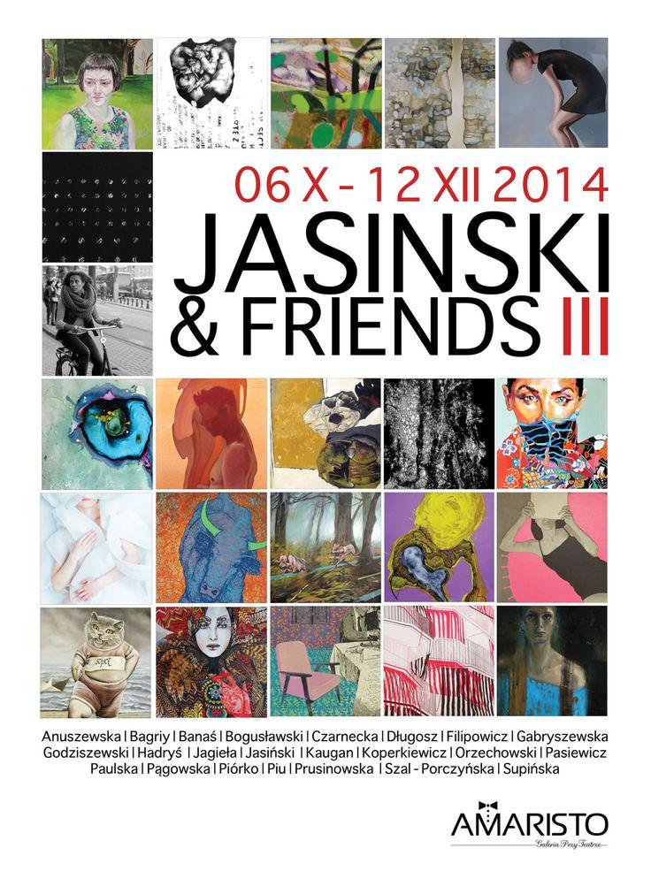 Jasinski&friends III wystawa - Galeria przy Teatrze