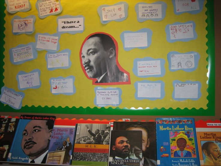 More like this: bulletin boards , martin luther and dreams .