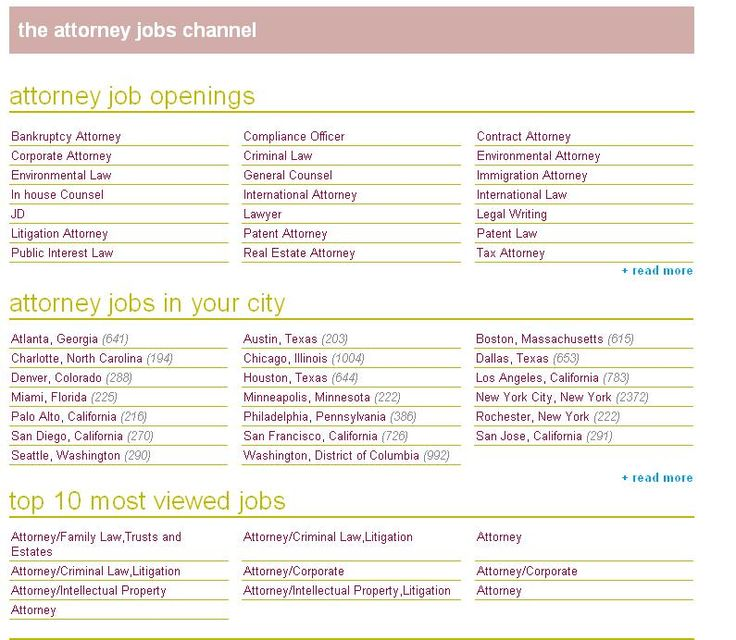 attorney jobs all attorney jobs all types of attorney jobs