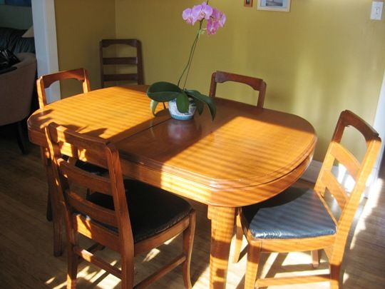 Refinishing A Dining Room Table Glamorous Design Inspiration