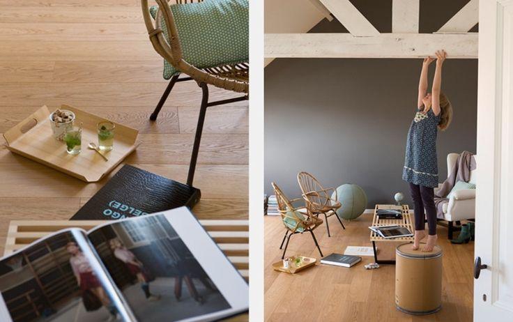 Slaapkamer Kleuren Colora : zolder interieur Pinterest
