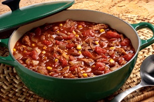 Pulled Pork Halftime Chili. This is the best chili ever! Simple ...