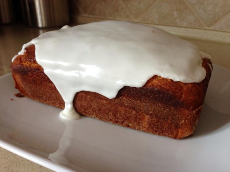 Ina Garten's Lemon Yogurt Cake from Barefoot Contessa at Home. It's ...
