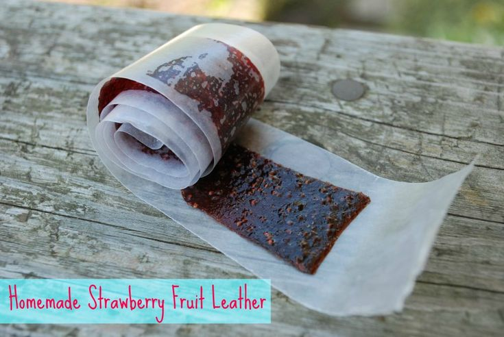 Homemade Fruit Leather by Real Mom Nutrition. So easy--and so much ...