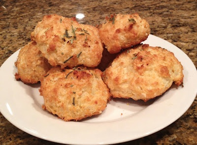 Easy Rosemary Garlic Parmesan Biscuits Recipe — Dishmaps