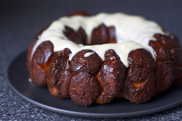 monkey bread + cream cheese glaze by Smitten Kitchen, via Flickr