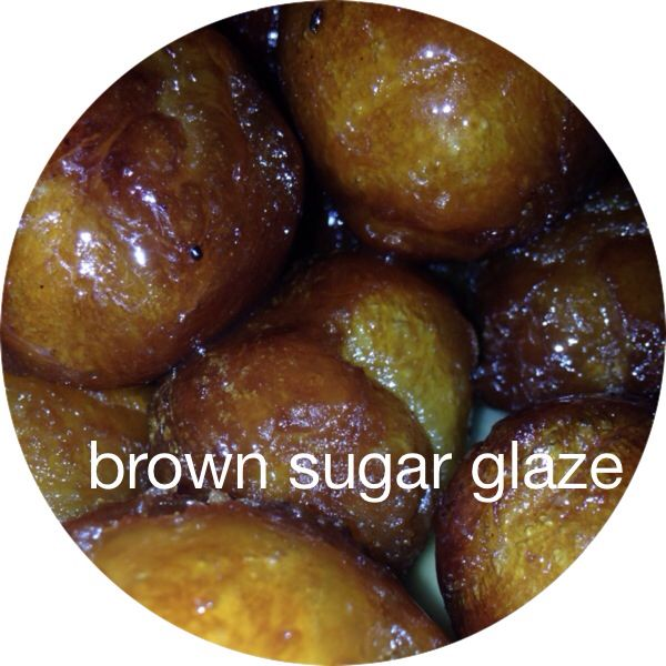 Brown sugar glazed donuts using Pillsbury biscuits
