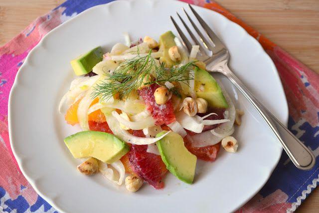 Sicilian-Inspired Blood Orange Salad Recipe — Dishmaps