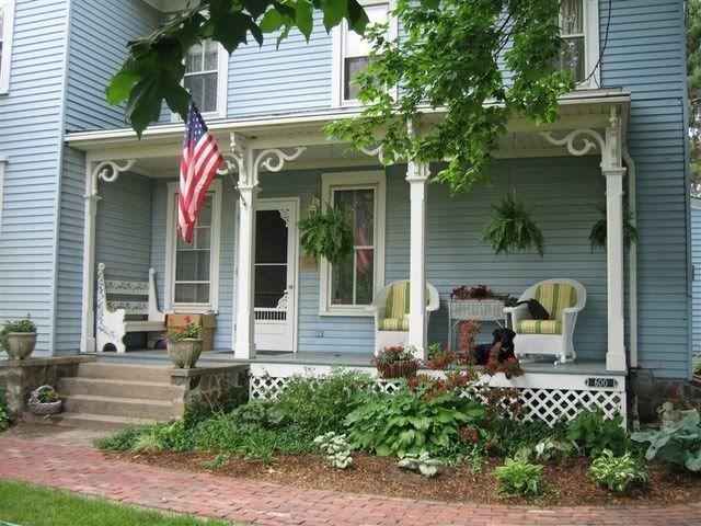 1930 39 S Farmhouse Porch Front Porch Welcome Pinterest