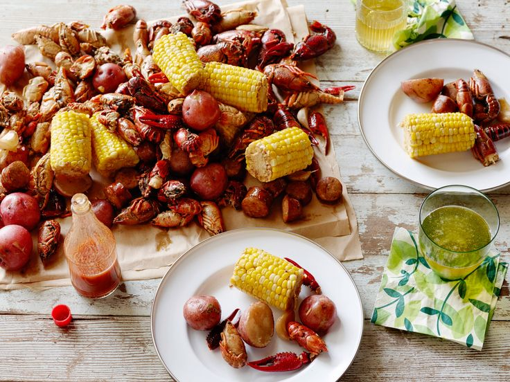 Crawfish Boil Recipe : Alton Brown : Food Network - FoodNetwork.com